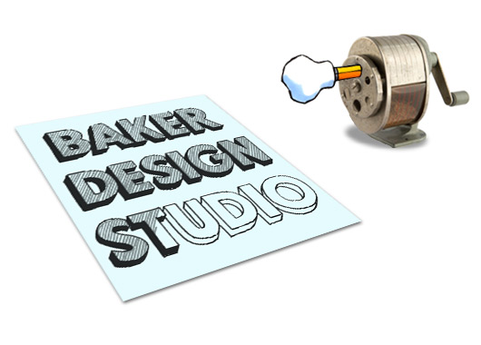 Baker Design Studio Logo Design